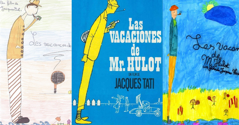 [Maison Motion 設計] 法國小孩筆下的賈克大地:20位幼稚園小孩畫的《于洛先生的假期》