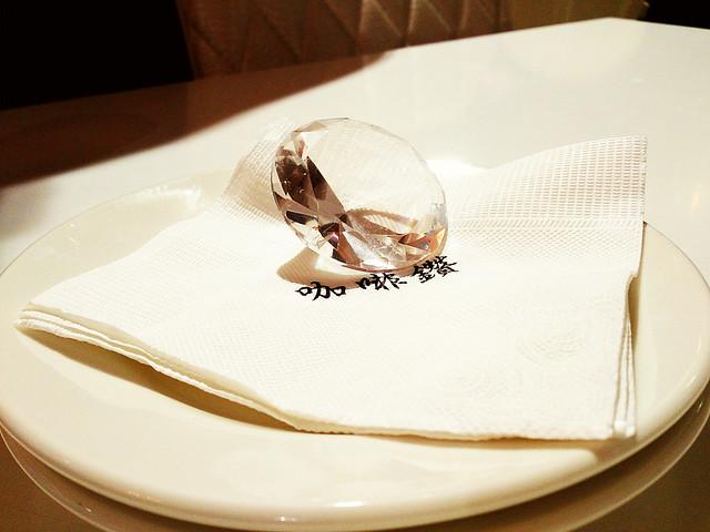 【台中咖啡鑽】鬆餅界的鑽石之星,名不虛傳喔!
