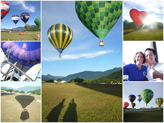 台東鹿野高台 2013熱氣球嘉年華 成功飛上天