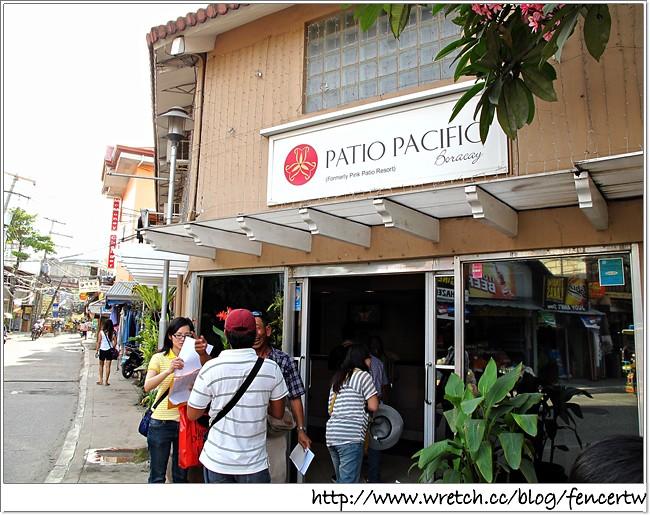 〔菲律賓〕長灘島之旅 - Day1:PATIO PACIFIC BORACAY→ D Mall → KALINGA Bar Restaurant →Palassa SPA