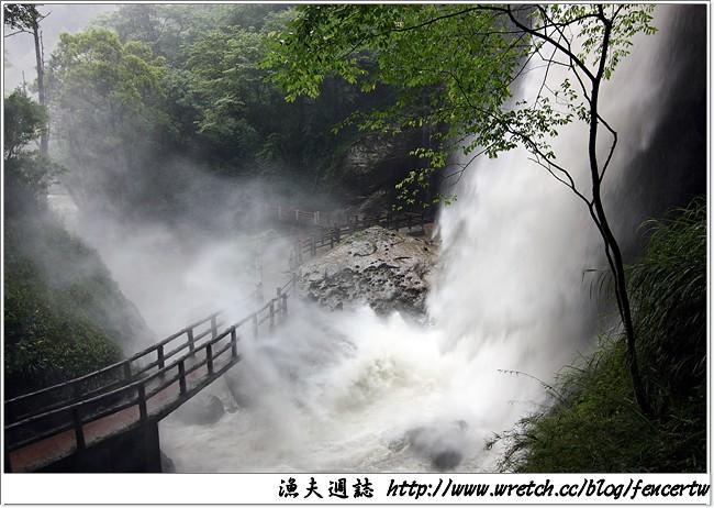 〔南投〕杉林溪自然生態之旅 Day2(上) ─ 大雨滂沱,銀瀑飛瀉,繡球花海,美不勝收~