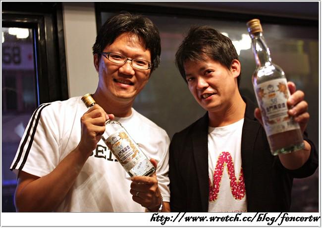 〔活動〕金門高粱酒挑戰珍藏館第六號珍藏 ─ 謝哲青見面會@57鮮魚場~