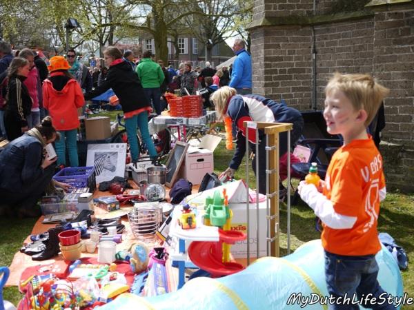 荷蘭國王日全民市集~小孩當家