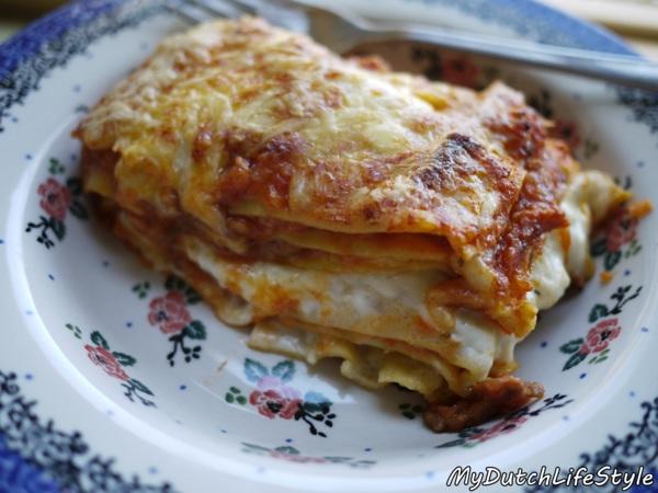 荷蘭爸爸愛煮飯~千層麵Lasagne