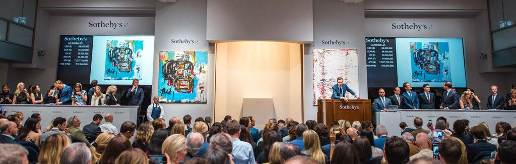 Basquiat創當代拍賣史上第二高價天價榜上超越安迪沃荷