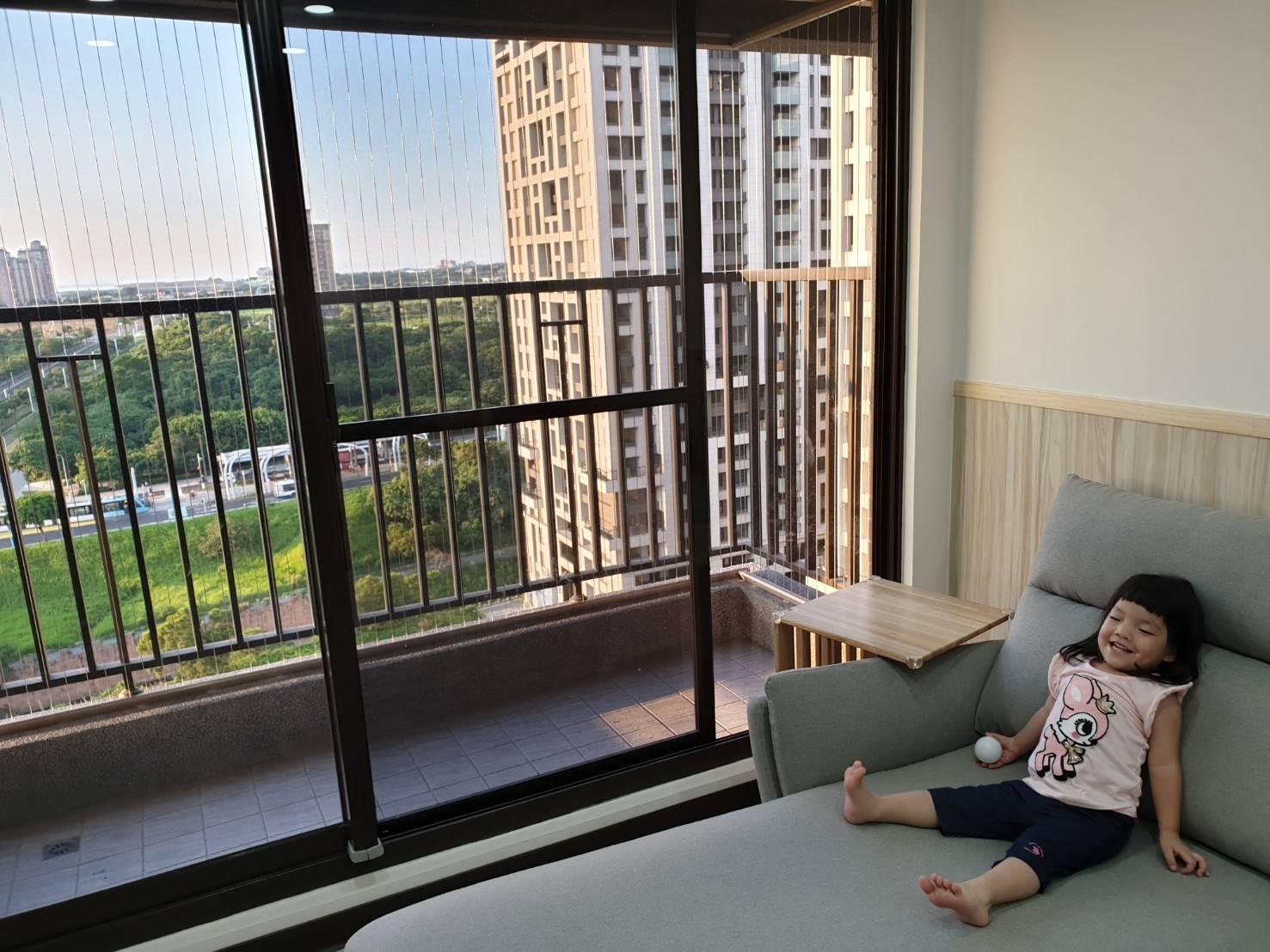 我們家強力推薦的隱形鐵窗 防墜超安心