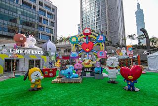 2020冬季全台最「萌」LINE FRIENDS Carnival 派對時光 台北、高雄接續開跑