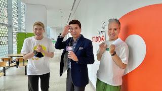 《娛樂超skr》直擊《多情城市》拍攝現場 倪齊民模仿柯P超傳神