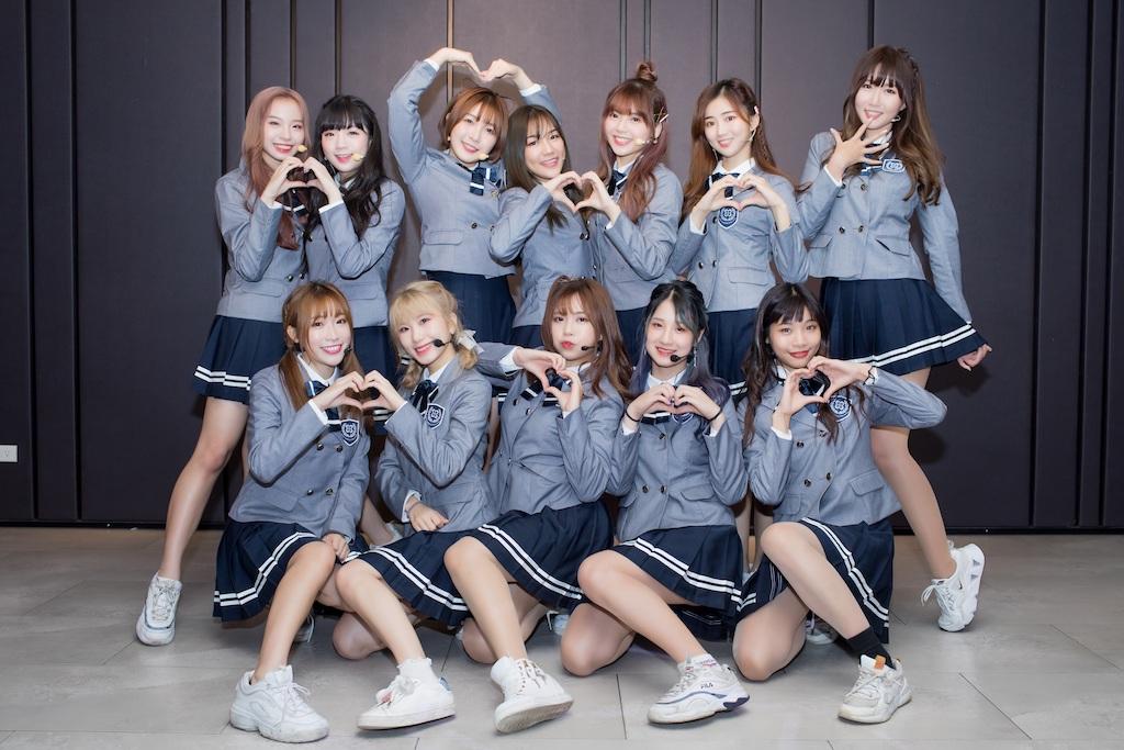 韓團L.C.G.勵齊女孩(LITTLE CHEER GIRL) TAIWAN 宣傳通告初體驗!