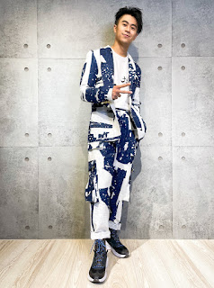 『小提琴猛男學霸』廖柏雅展現時尚面向 線上時裝秀挑戰金氏世界紀錄