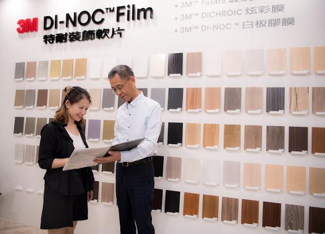 裝修潮最夯神器!獨創消光防指紋技術 建材美學新工法 3M™ DI-NOC™ 特耐裝飾軟片打造「美感力、實用力、耐候力、安全力」