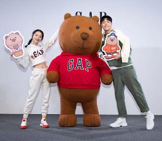 李沐、蔡凡熙 首度同台合作 正式加入Gap品牌好友行列
