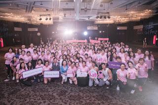 第二屆Motiva Pink Power粉紅力量傳遞愛 張鈞甯拳擊魂上身、Fighting乳癌防治