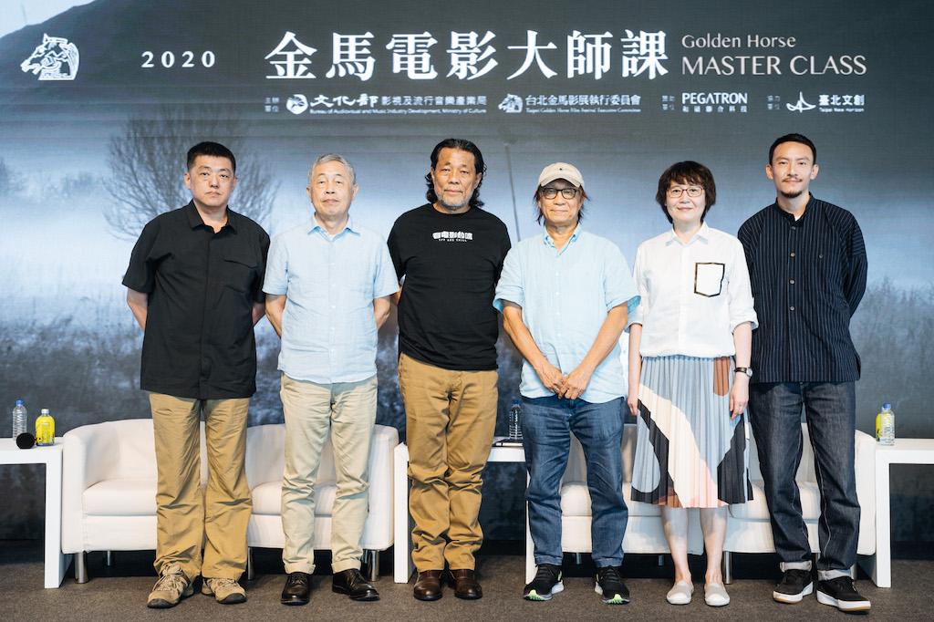 廖慶松、李屏賓、杜篤之、黃文英、林強、張震 金獎陣容齊聚2020金馬電影大師課