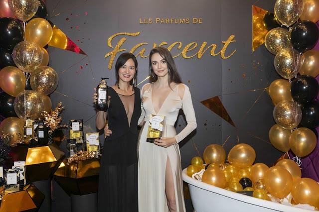 Les Parfums de Farcent全新璀璨名媛香水系列隆重推出自信鑽石女神Janet謝怡芬、甜美鑽石女神瑞莎 綻放奢華
