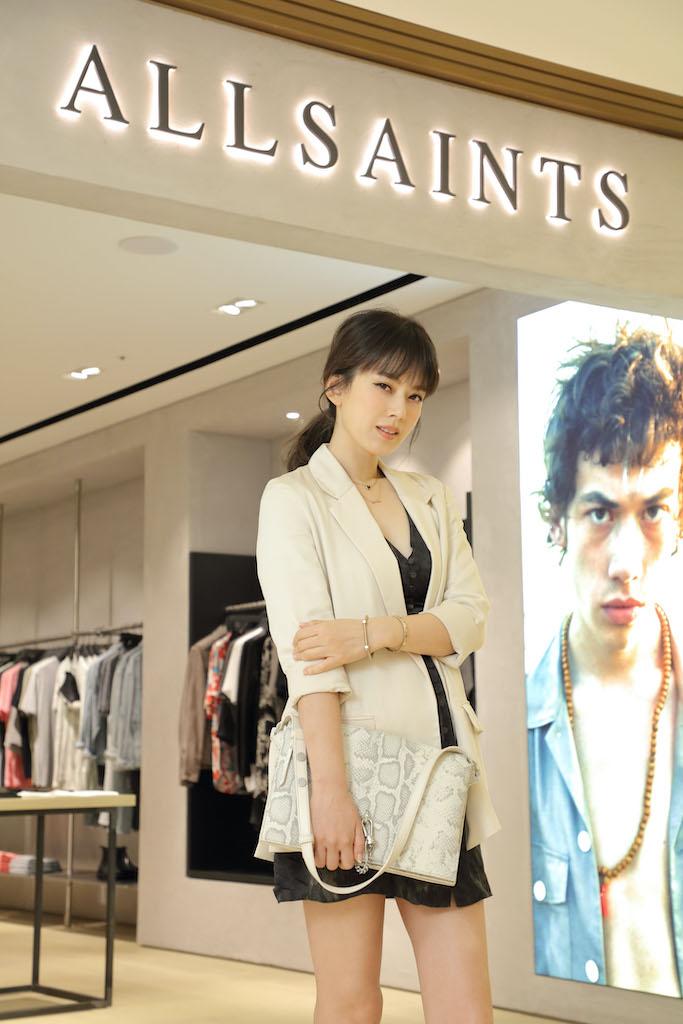 ALLSAINTS亞洲首間全新概念店進駐微風信義時尚媽咪Melody 優雅詮釋英倫新風尚