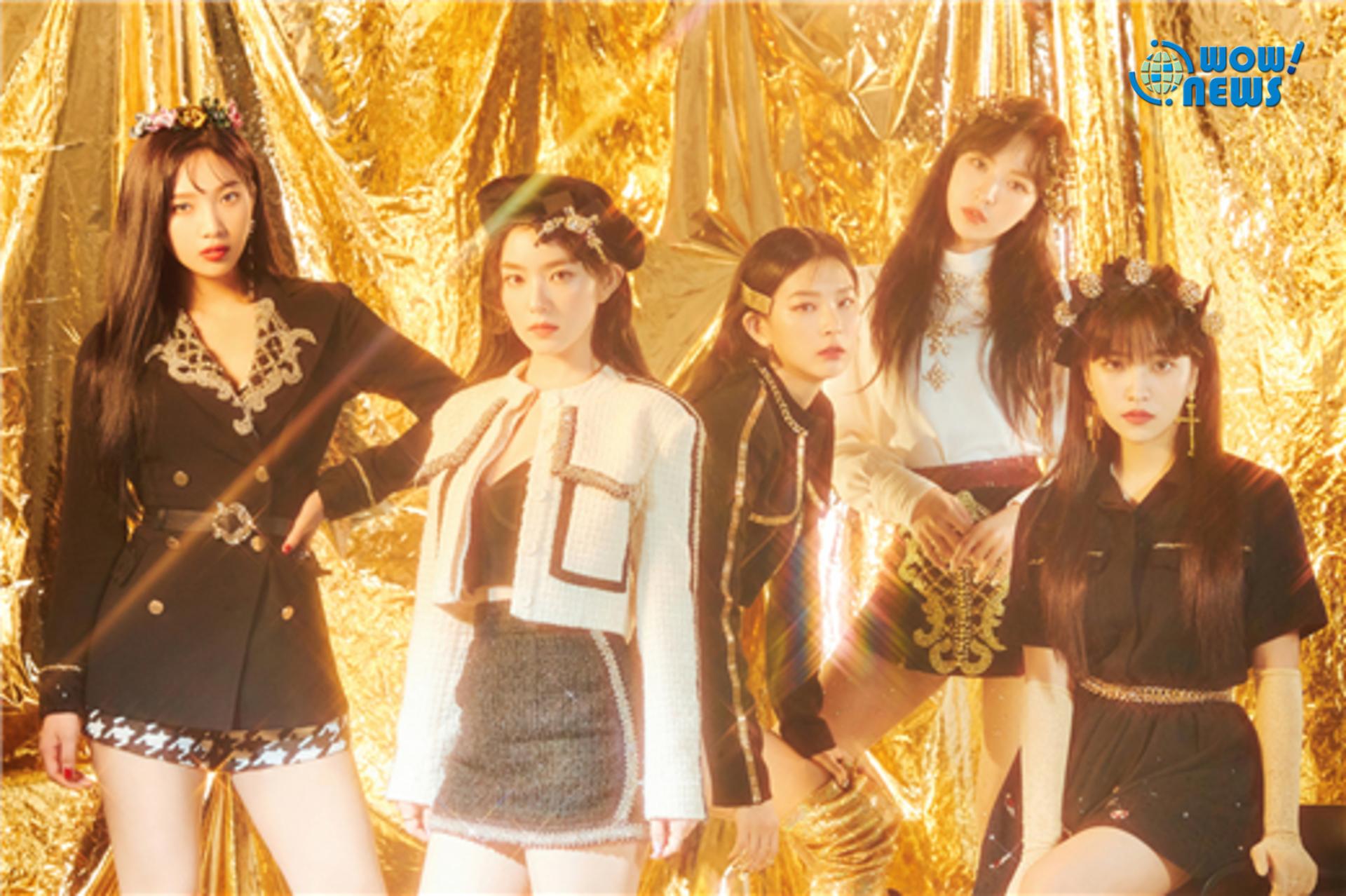 Red Velvet釋出最新預告照 28日晚新曲MV公開