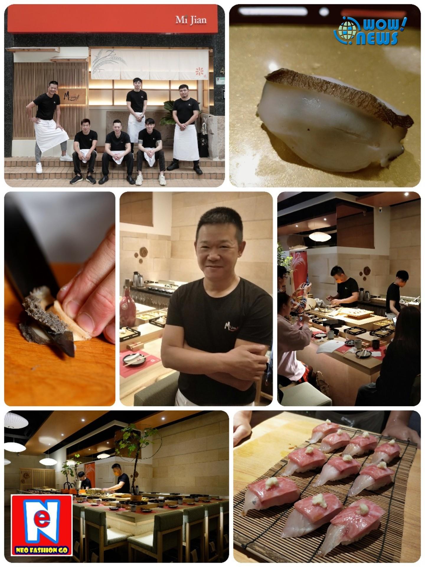 「米匠」日式料理高貴不貴 進軍內科 分享「現代藝術壽司」