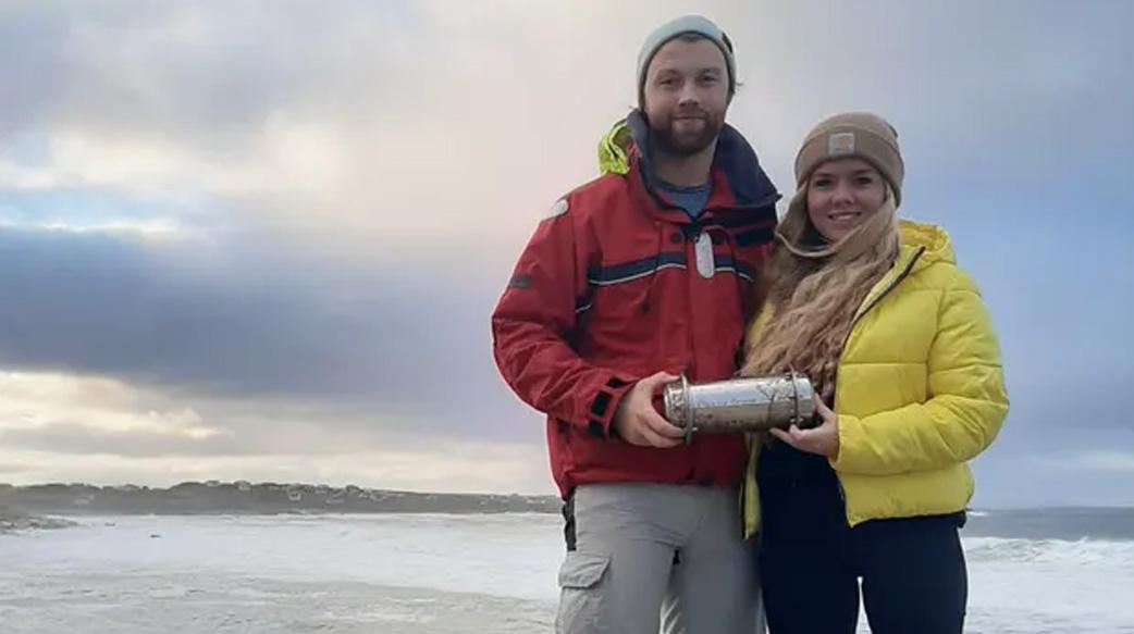 冰海融化太快 北極時光膠囊漂至愛爾蘭