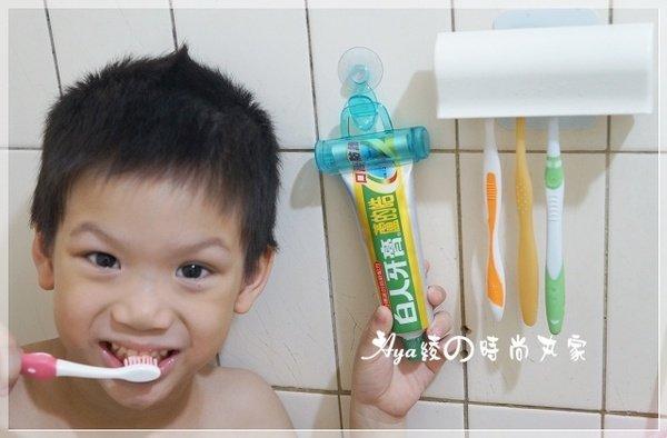 【居家】發現浴室裡的居家小法寶~魔術牙膏夾掛架