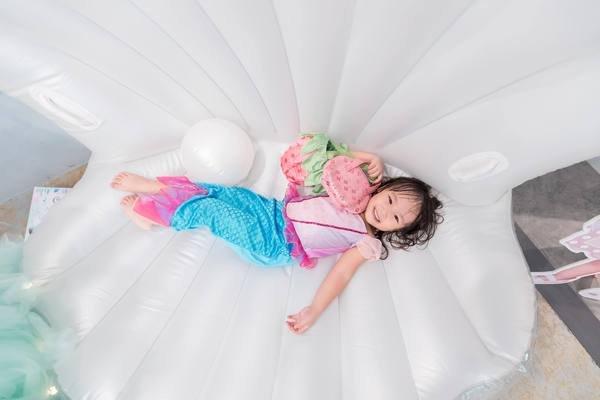 兒童生日派對活動,MINIME Kids Cafe韓風親子餐廳,yo yo三歲主題生日派對慶生活動紀錄
