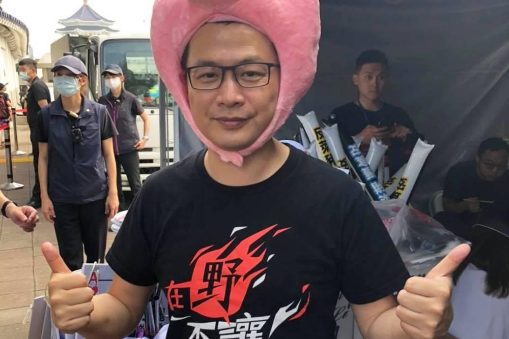 凱道秋鬥/羅智強:上街頭為下一代站出來反對民進黨的黨國體制