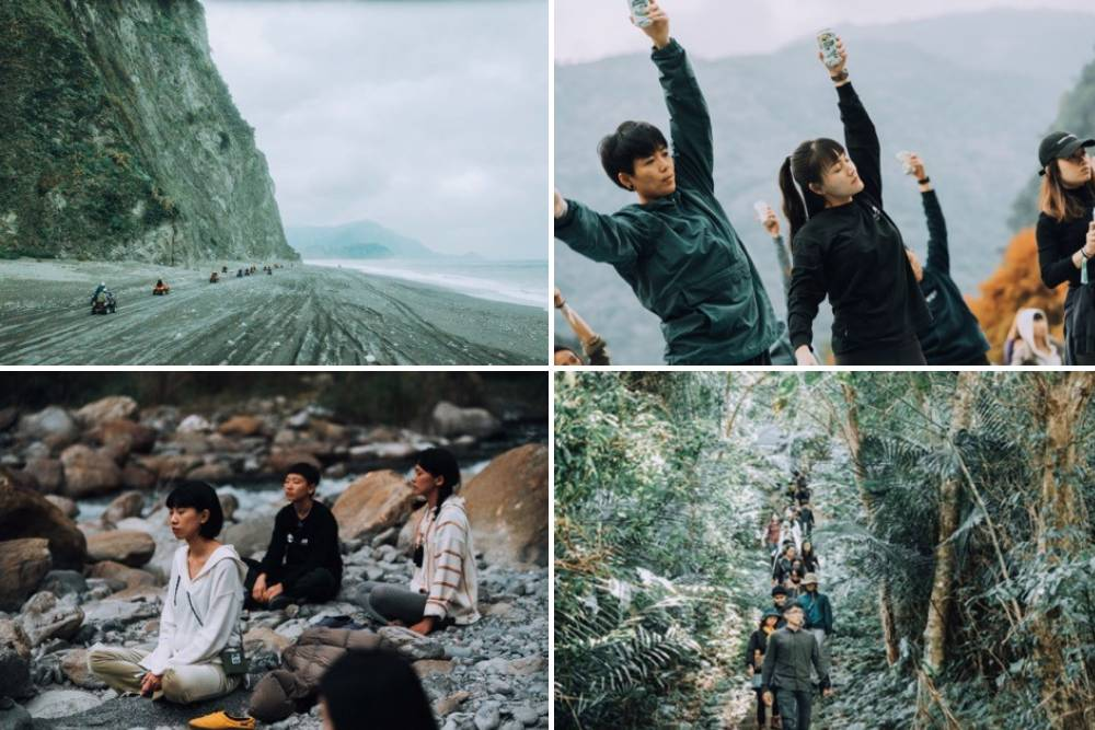 山行者攜手服飾品牌辦山海野營季 千人匯聚體驗未知大自然