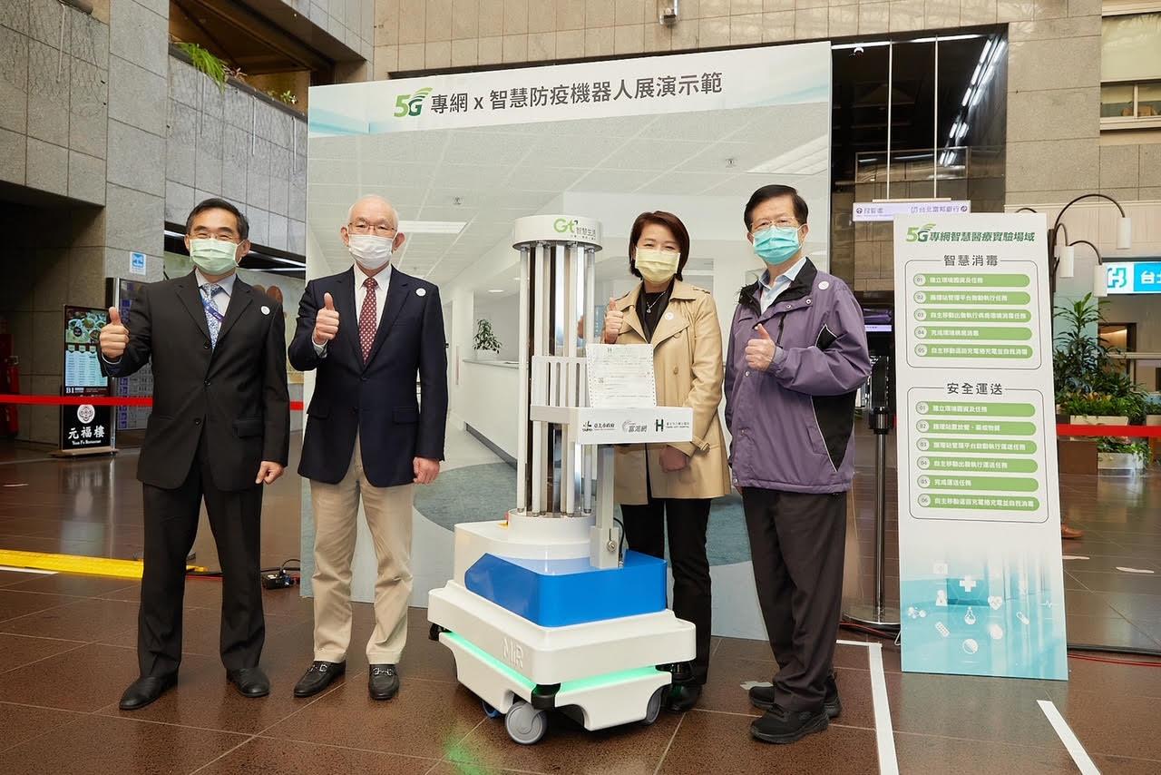 全部MIT!亞太電信聯手北市府 打造業界首座SA 5G專網智慧醫療場域
