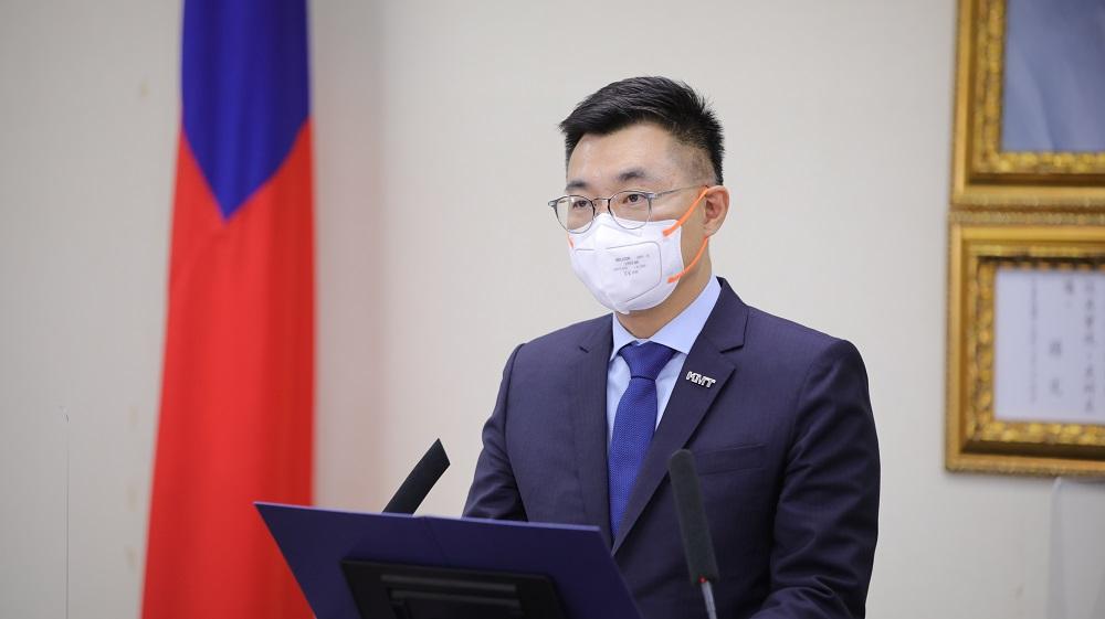 「疫情爆發是政策失當的人禍」江啟臣籲蔡總統應謹慎發言