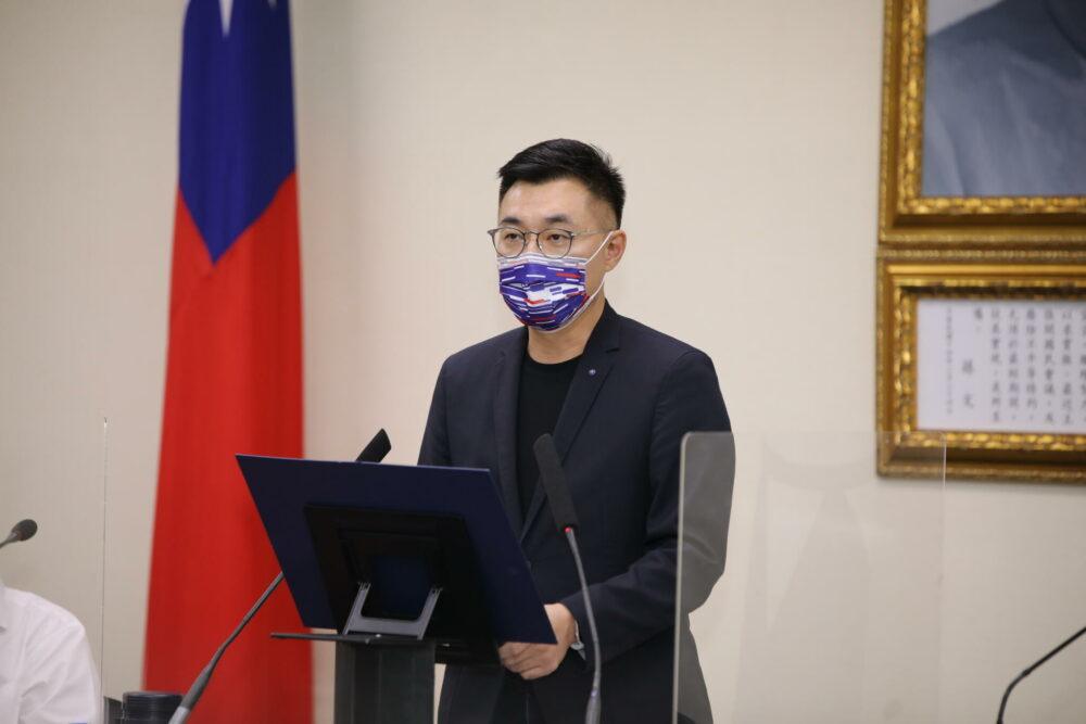 黨主席選舉/曝智庫民調仍輸綠營 朱立倫為2022選舉立軍令狀
