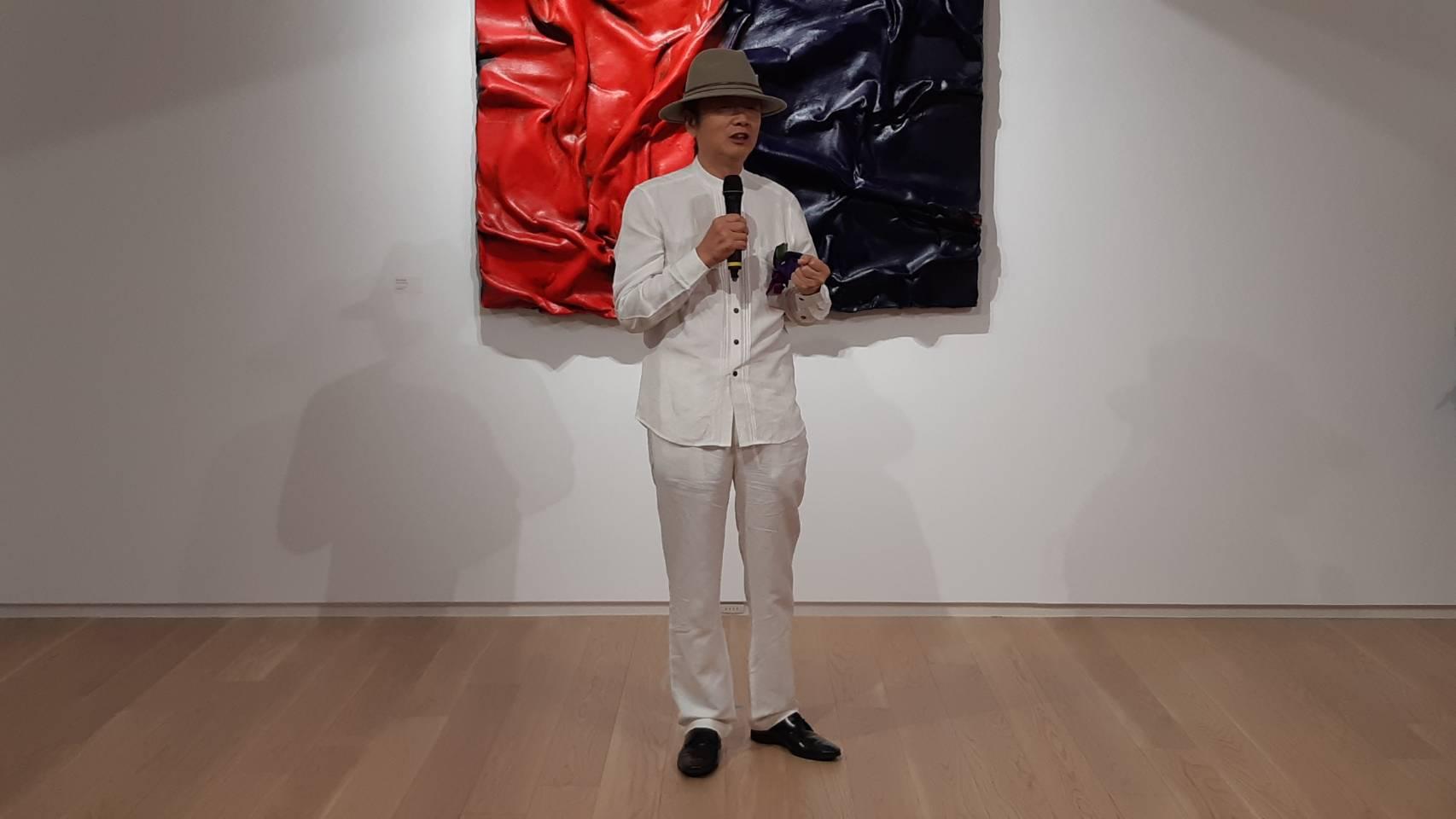 享譽國際大陸知名藝術家來台個展 超大膽「三維層次」作品博人眼球!