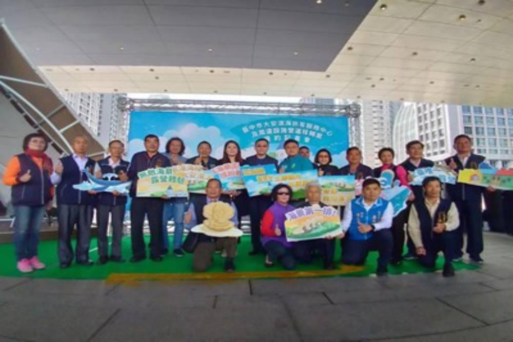 大安濱海樂園打造成全台首座合法豪華露營區