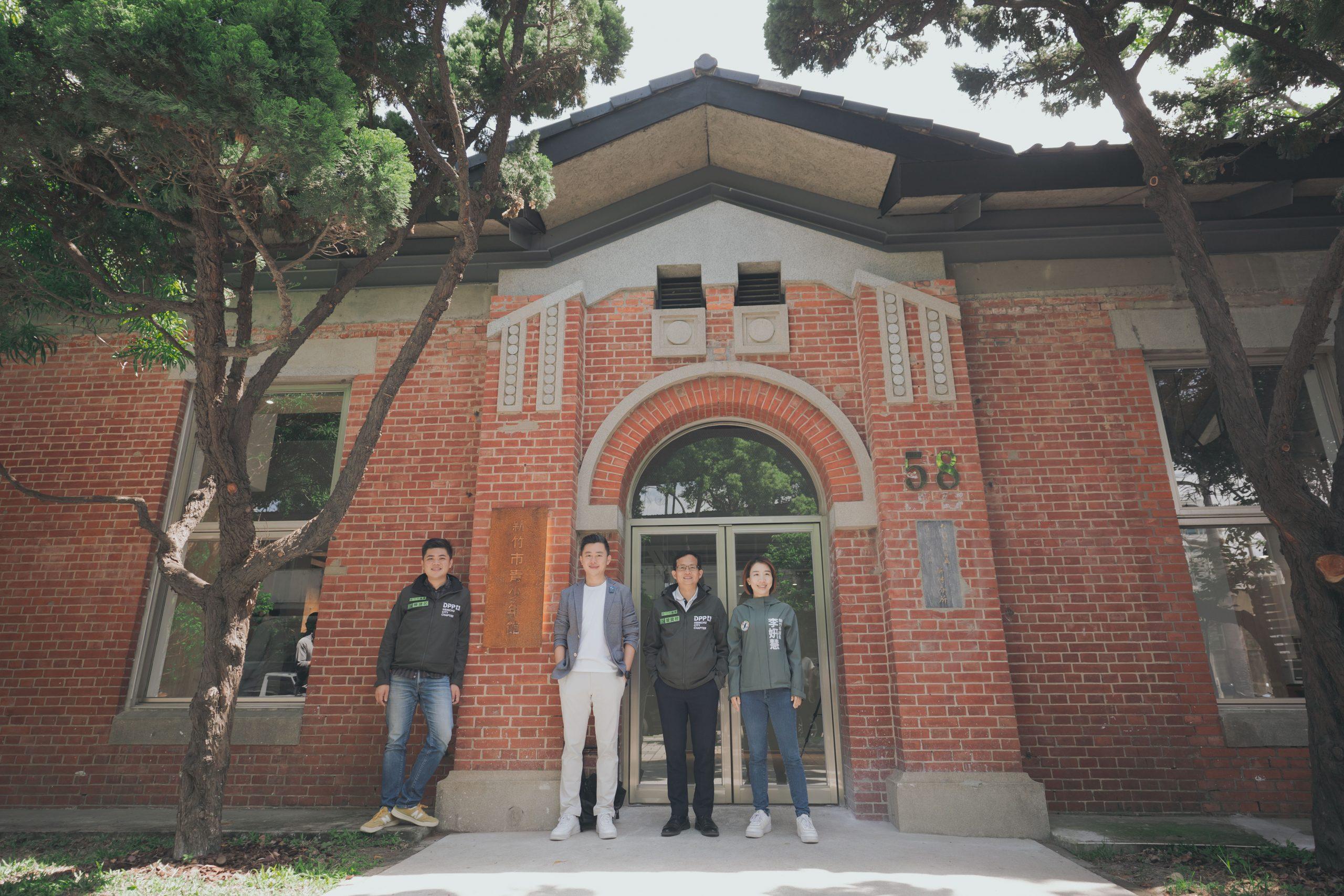 竹市第7座分館「青少年館」啟用 百年日式紅磚圖書館藏書3千冊