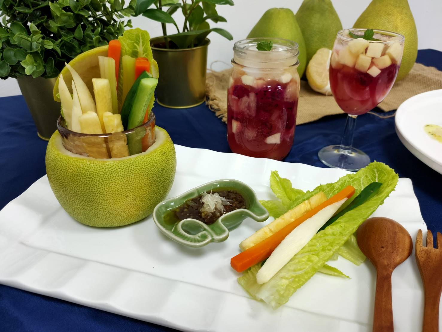 柚子營養高中醫大新竹附醫營養師推柚子料理簡單做