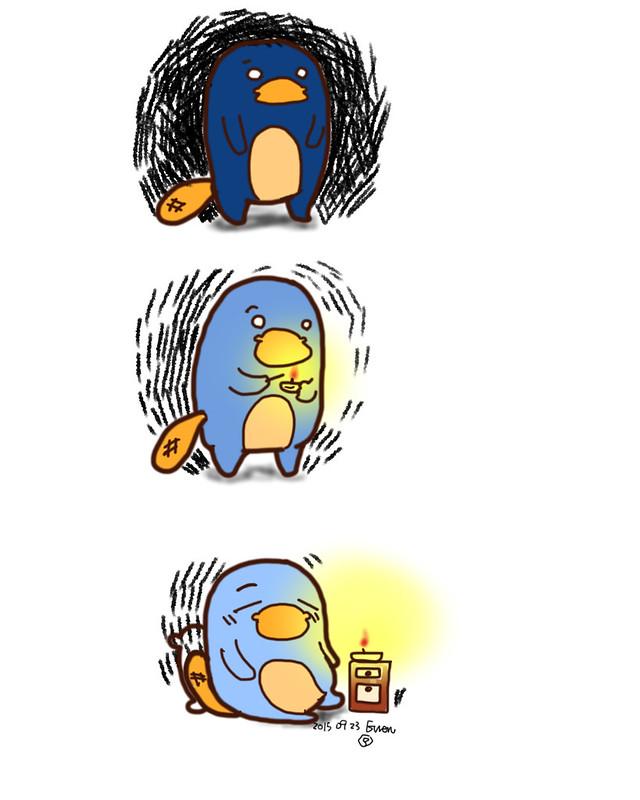 BLUE PLATYPUS憂鬱鴨嘴獸,當憂鬱來襲怎麼辦?