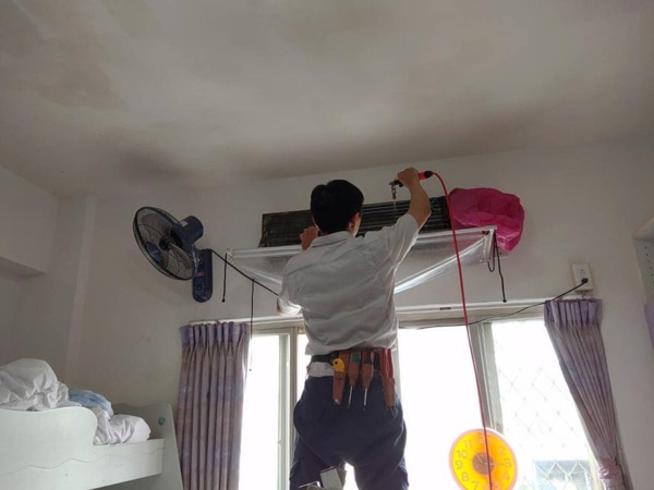 洗冷氣找007 / 暖心為育幼院清洗冷氣,讓孩子們有更舒適的成長環境