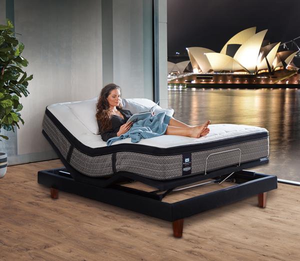 Sealy席伊麗 睡得好 免疫力更好 五星級宅在家專案—奢華電動床輕鬆入主
