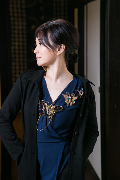 《美的信使- 煉泥術》沙龍展 紐約蔡爾平藝術家+大阪岡本孝攝影師