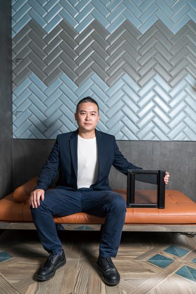 Fresh Vitality 入行紗網傳產 創造清新生機 建運企業 總經理 邱連平