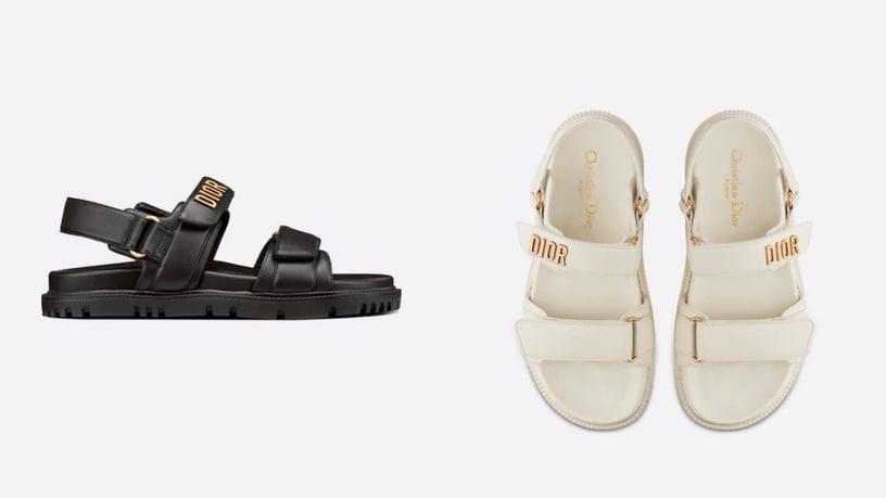 2021夏日涼鞋推薦Top7!Dior老爹超百搭、韓妞最愛餅乾涼鞋,馬汀更是一秒顯腿長