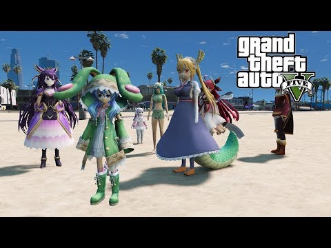 約會大作戰入侵GTA5
