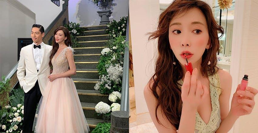 接下來新娘都要搶這一支!林志玲花嫁唇色超生火,同款買不到還有這幾支...
