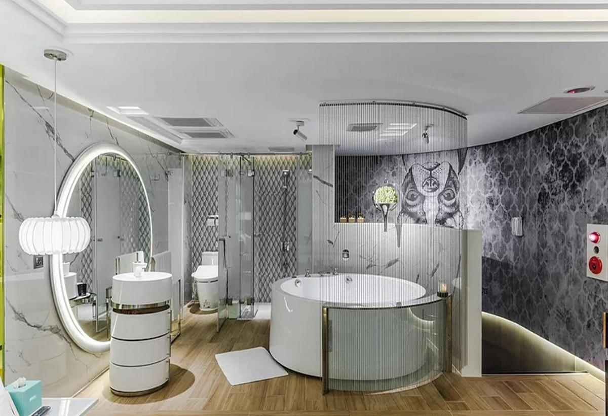 【桃園汽車旅館推薦】備主題套房、夢幻按摩浴缸、情趣娛樂設施的桃園汽車旅館