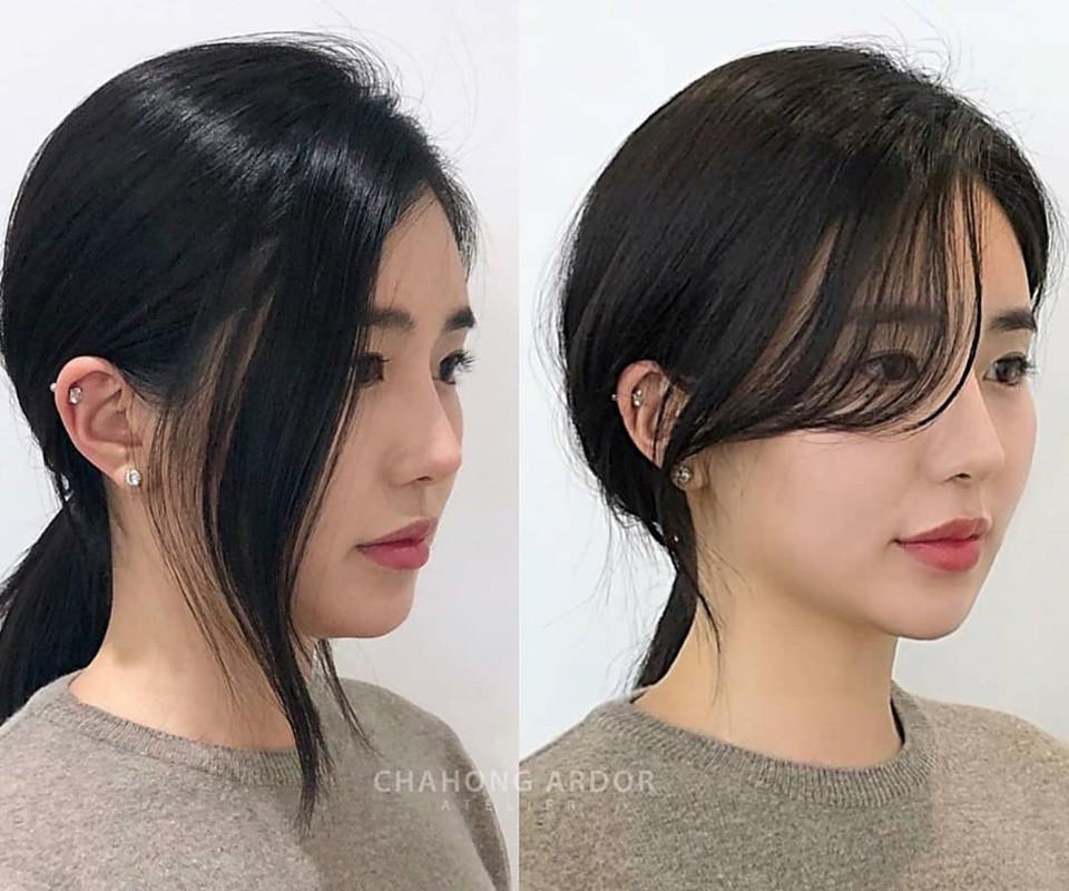 韓妞都在瘋這款「整形瀏海」!修飾顴骨下顎、超級顯小臉,髮型師公開零失敗剪法技巧