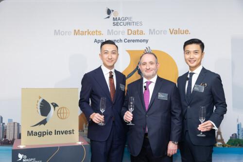 「喜鵲投資」登陸香港 囊括環球7個股票市場 令投資者喜獲更多投資機會