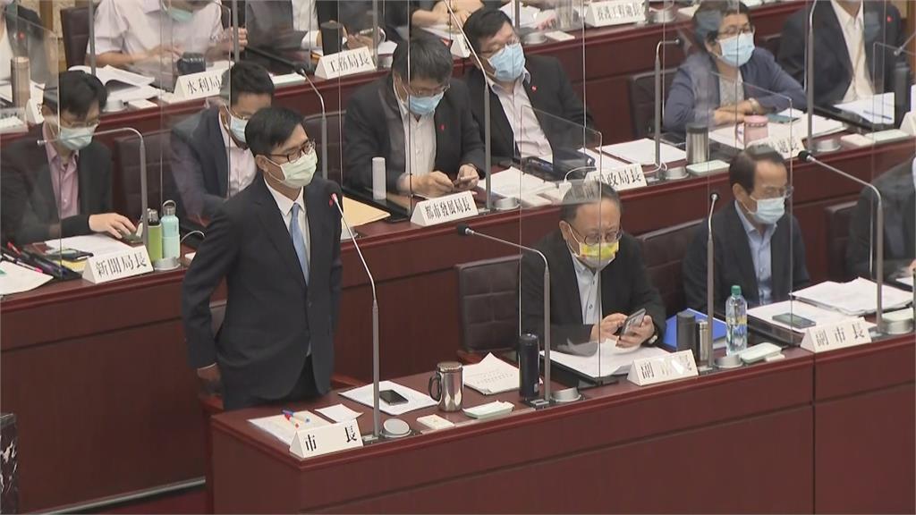 台南議會暫停開會 高雄擬跟進陳其邁感謝