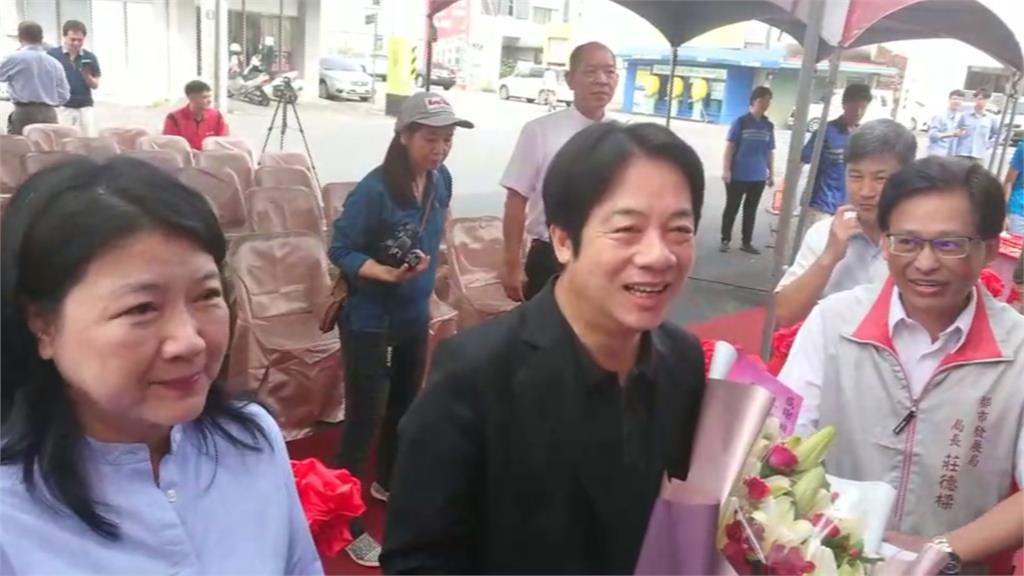 台南幸福大樓重建 賴清德現身入厝儀式
