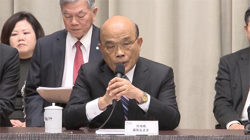蘇貞昌宣布通過紓困2.0方案 1兆500億補助內容看這裡