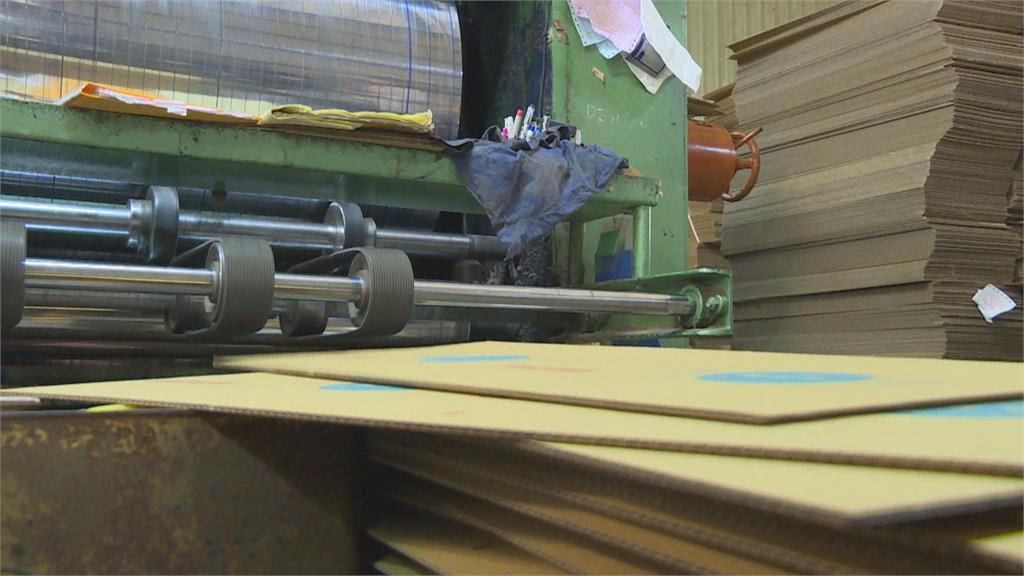 紙箱大缺貨!造紙業勞工鬆綁7休1 影響4萬勞工