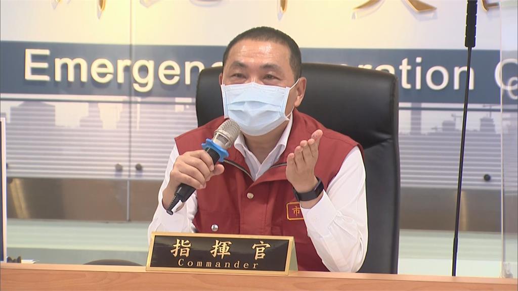 快新聞/侯友宜:新北果菜市場2千人先打疫苗